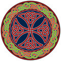 Celtic cross design element Stock Image
