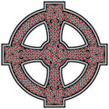 Celtic cross design element Stock Photos