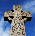 Celtic Cross 2 Royalty Free Stock Photo