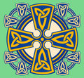 Celtic Decorative Cross Royalty Free Stock Image