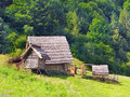 A Celtic farmstead in the Havranok, Slovakia.