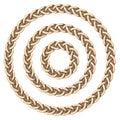 Celtic frame circle