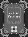 Celtic frame Royalty Free Stock Photo
