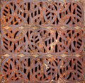 Celtic Grating Stock Image