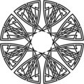 Celtic knot #13 Stock Photo
