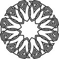 Celtic knot #69 Stock Image