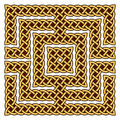 Celtic knot border Royalty Free Stock Photography