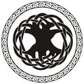 Celtic knot illustration Stock Image