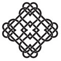 Celtic Knot Motif Royalty Free Stock Photo