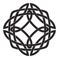 Celtic Knot Motif Stock Photo