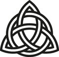 Celtic Knot With Outlines