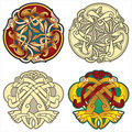 Celtic motifs Stock Photo