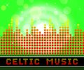 Celtic Music Represents Sound Track And Gaelic