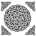 Celtic ornament (gordian knot) Stock Photos