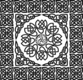 Celtic ornament, vector Royalty Free Stock Photo