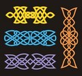 Celtic ornamental designs Royalty Free Stock Images