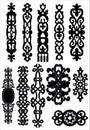 Celtic ornate elements