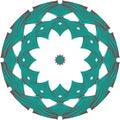 Celtic round ornament