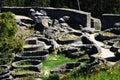 Celtic ruins
