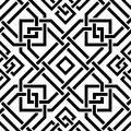 Celtic seamless pattern the vector image Royalty Free Stock Images
