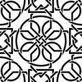 Celtic seamless pattern the vector image Royalty Free Stock Photos