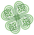 Celtic Shamrock Royalty Free Stock Photos
