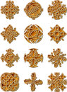 Celtic Style Ornaments Stock Photo