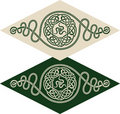 Celtic style pattern Stock Photo