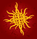 Celtic Sun Royalty Free Stock Photos