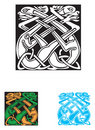 Celtic symbol - tattoo or artwork Royalty Free Stock Photo