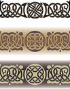 Celtic tattoo pattern Stock Photo