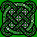 Celtic tracery Stock Photo