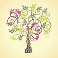 Celtic tree Royaltyfria Foton