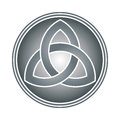 Celtic trinity knot Stock Photo