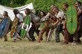 Celtic warriors. Royalty Free Stock Photo