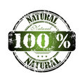 Cem por cento natural Imagens de Stock Royalty Free