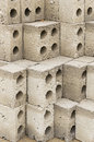 Cement bricks Royalty Free Stock Photography