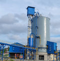 Cement packing plant Royalty Free Stock Photo