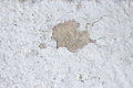 Cement wall with cracks, and loose pieces of paint dirty texture Royalty Free Stock Photo