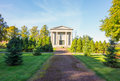 Cemetary katrineholm is a lush garden too Stock Photography