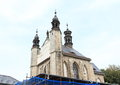 Cemetery church of all saints with an ossuary in sedlec kutna hora czech republic Stock Photography