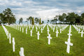 Cemetery of Colleville sur Mer Royalty Free Stock Photography
