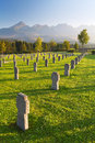 Cemetery for german soldiers - 2. world war Stock Photo