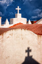 Cemetery historic at bonifacio corsica Stock Photography
