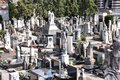 Cemetery in milan italy famous landmark the monumental cimitero monumentale Royalty Free Stock Image