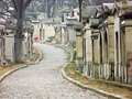 Cemetery of Pere Lachaise, Paris, France Stock Photography