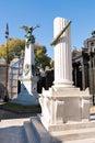 Cemetery recoleta buenos aires argentine historic Stock Photos