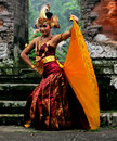 Cendrawasih dance is one of most popular dances in bali Stock Photo