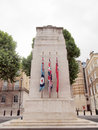 The cenotaph london to commemorate deads of all wars uk Royalty Free Stock Photo