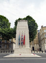 The cenotaph on whitehall london uk Stock Image